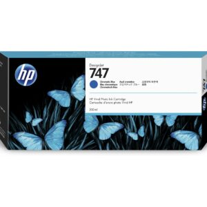 Tinta HP 747 300 ml Chromatic Blue (P2V85A)